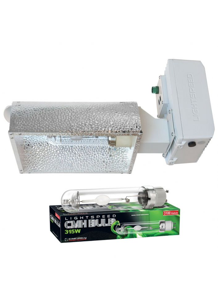 Lightspeed Pro CMH 315W 347V Enclosed W / Lamp 3100K