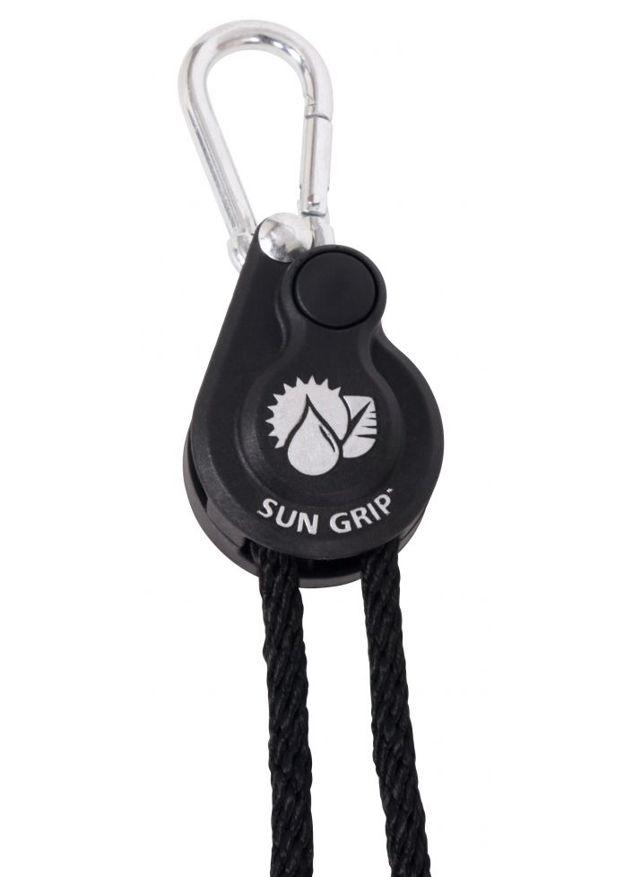Sun Grip® Push Button Heavy-Duty Light & Equipment Hangers 1/4