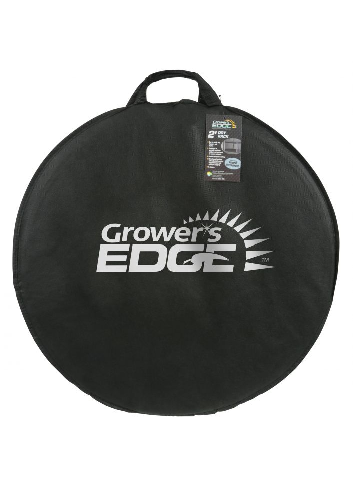 Grower's Edge® Dry Rack Partially Enclosed 3ft