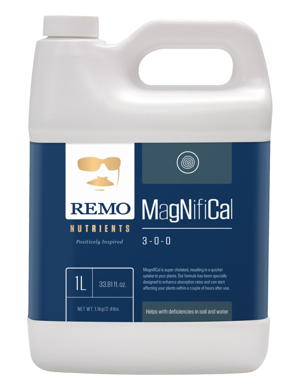 REMO'S MAGNIFICAL 1 LITER